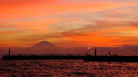 Marine Day Sunset