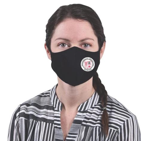 Black Fabric Mask