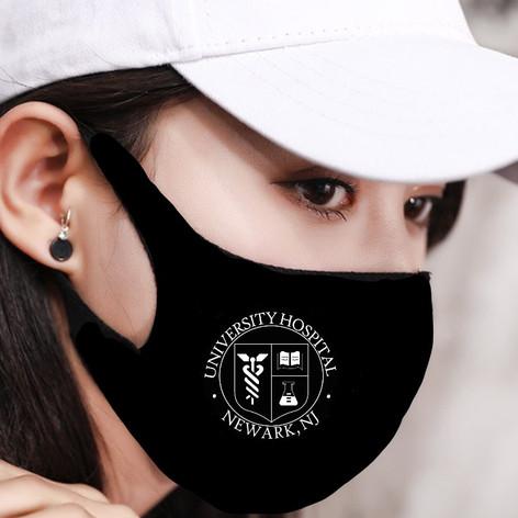 Black Stretch Mask
