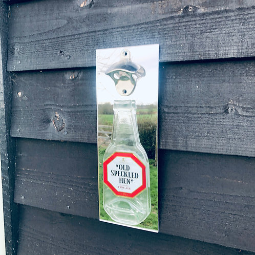 Old Speckled Hen Wall Mounted Bottle Opener