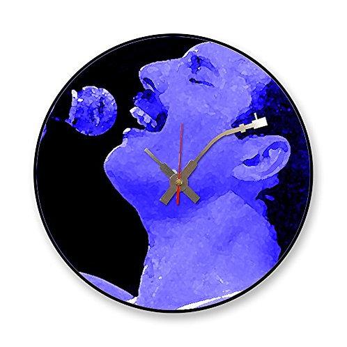 Iconic Freddie Mercury Queen Vinyl Wall Clock