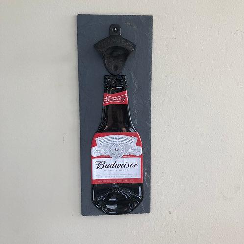 Budweiser Slate Bottle Opener