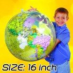 "Inflatable Clear Globe 16"" Diameter"
