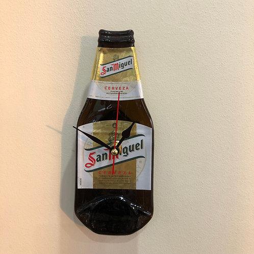 San Miguel Bottleclock
