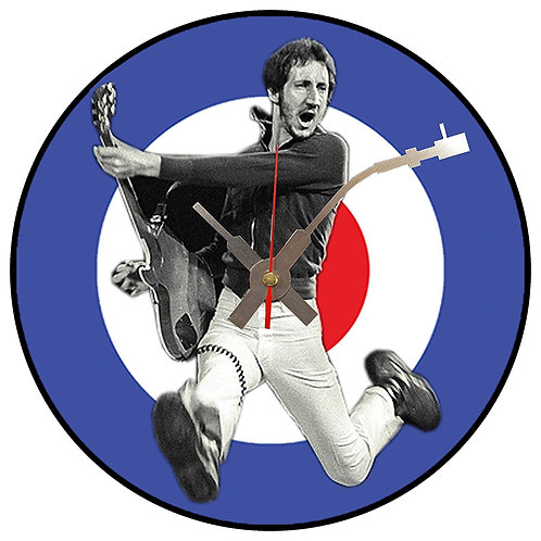 Iconic Pete Townsend Who Vinyl Wall Clock