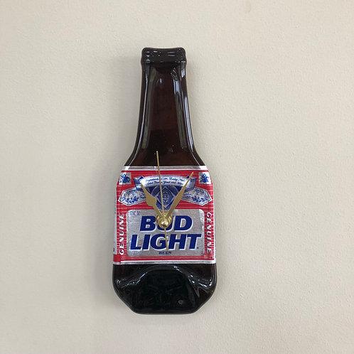 Bud Light Bottleclock