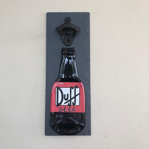Duff Beer Slate Bottle Opener