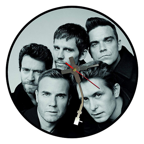 Iconic Take That  Vinyl Wall Clock