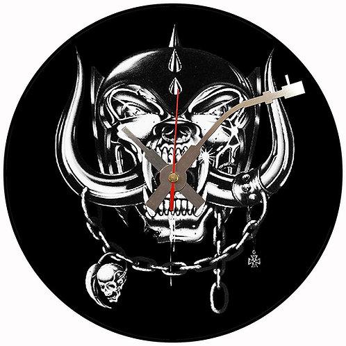 Iconic Motorhead Snaggletooth Vinyl Wall Clock