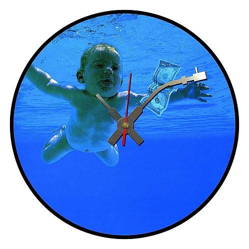 Iconic Nirvana  Vinyl Wall Clock
