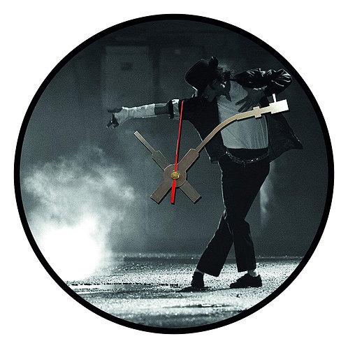 Iconic Michael Jackson Thriller Vinyl Wall Clock