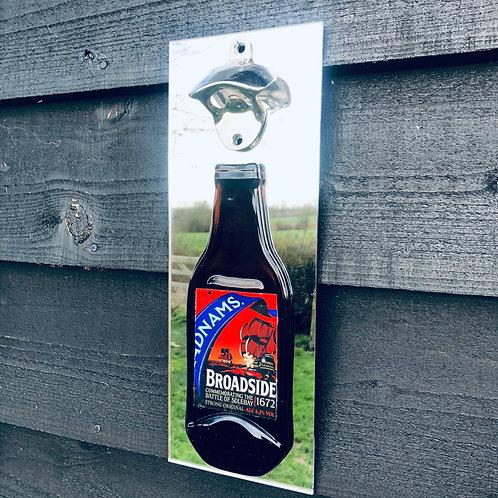 Adnams Broadside Wall Mounted Bottle Opener