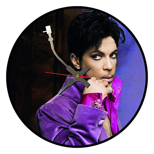 Iconic Prince Vinyl Wall Clock