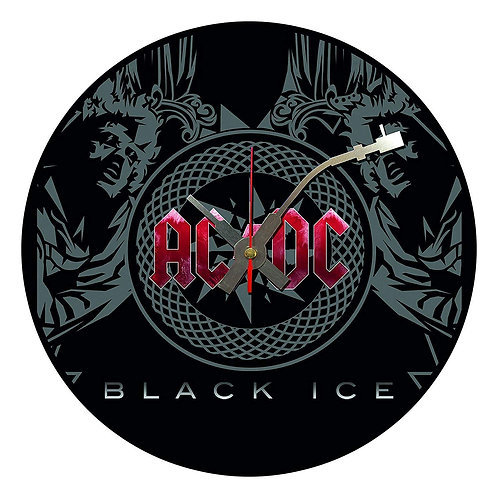 Iconic ACDC Vinyl Wall Clock