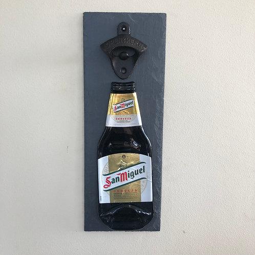 San Miguel Slate Bottle Opener
