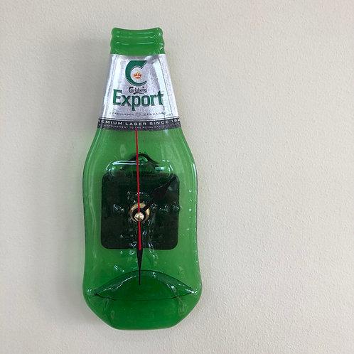 Carlsberg Export Bottleclock