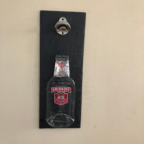 Smirnoff Ice Slate Bottle  Opener