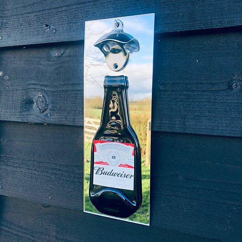 Budweiser Wall Mounted Bottle Opener