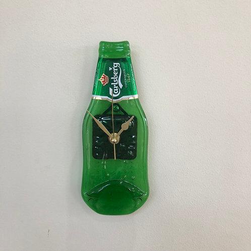 Carlsberg lager Bottleclock