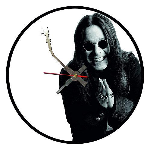 Iconic Ozzie Osbourne  Vinyl Wall Clock