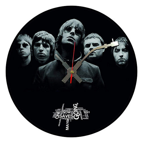 Iconic Oasis Vinyl Wall Clock