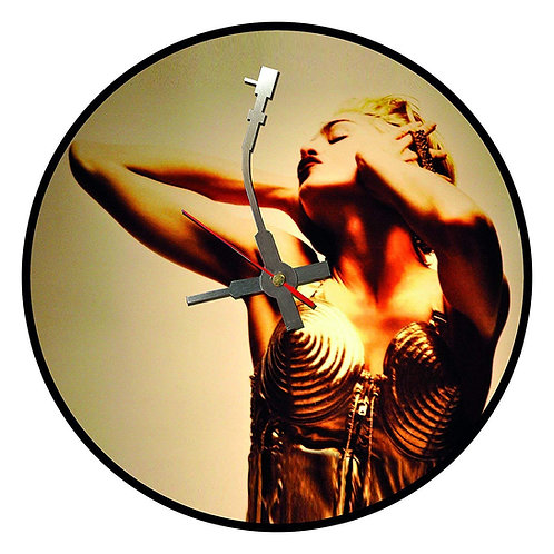 Iconic Madonna Vinyl Wall Clock