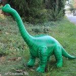 "Inflatable Brachiosaurus 48 "" long"