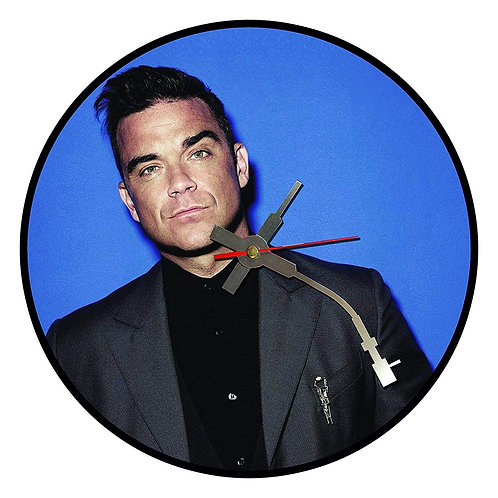 Iconic Robbie Williams Vinyl Wall Clock