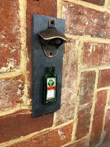 Jagermeister Miniature Wall Mounted Bottle Opener