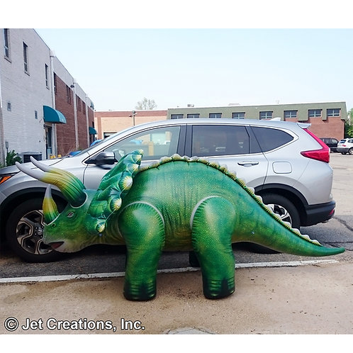 giant Inflatable Triceratops