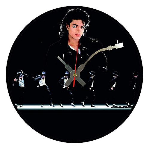 Iconic Michael Jackson Moonwalk Vinyl Wall Clock