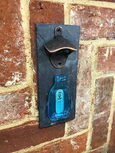 Bombay Sapphire Miniature Wall Mounted Bottle Opener