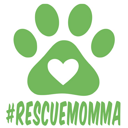 Paw with Heart with #RescueMomma
