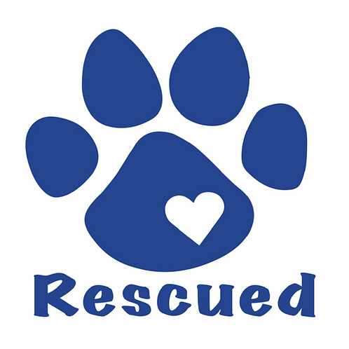 Rescued Decal