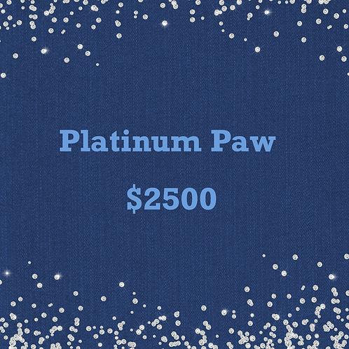 Platinum Paw
