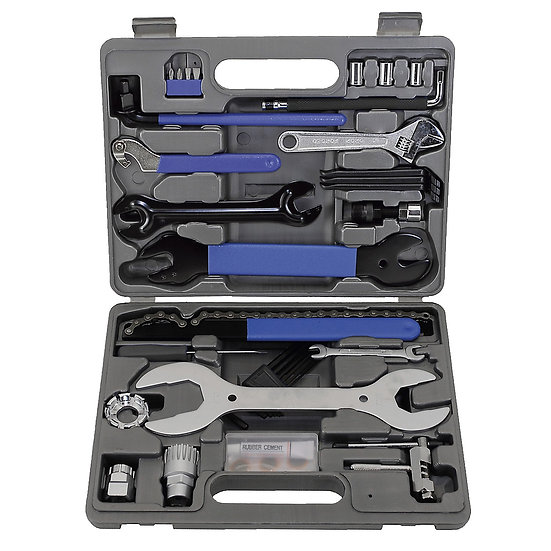 M-WAVE Portable Clinic Bicycle Tool Set