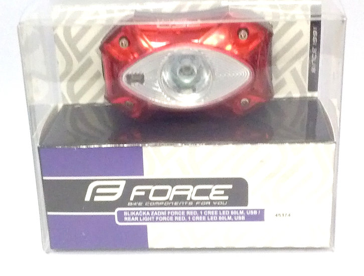 FORCE RED 1 LED Rear Light