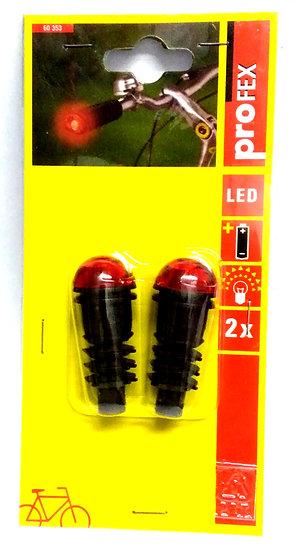 PROFEX Flashing Handlebar Stoppers