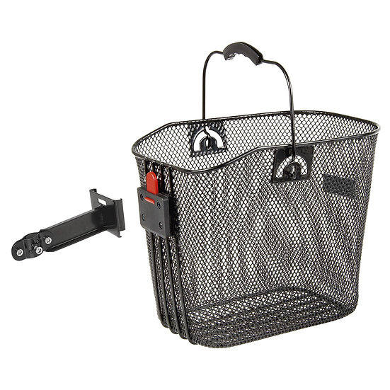 M-WAVE BA-F Clip Stem Long Wire Basket