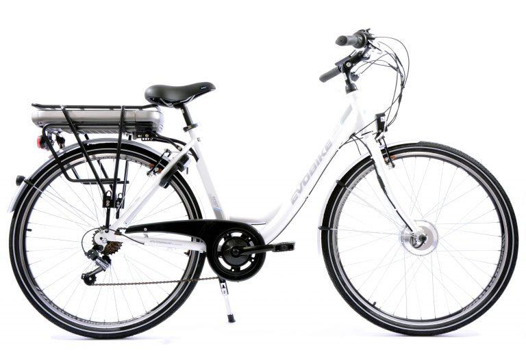 28 E-bike Evobike F-motor Rigid Fork black