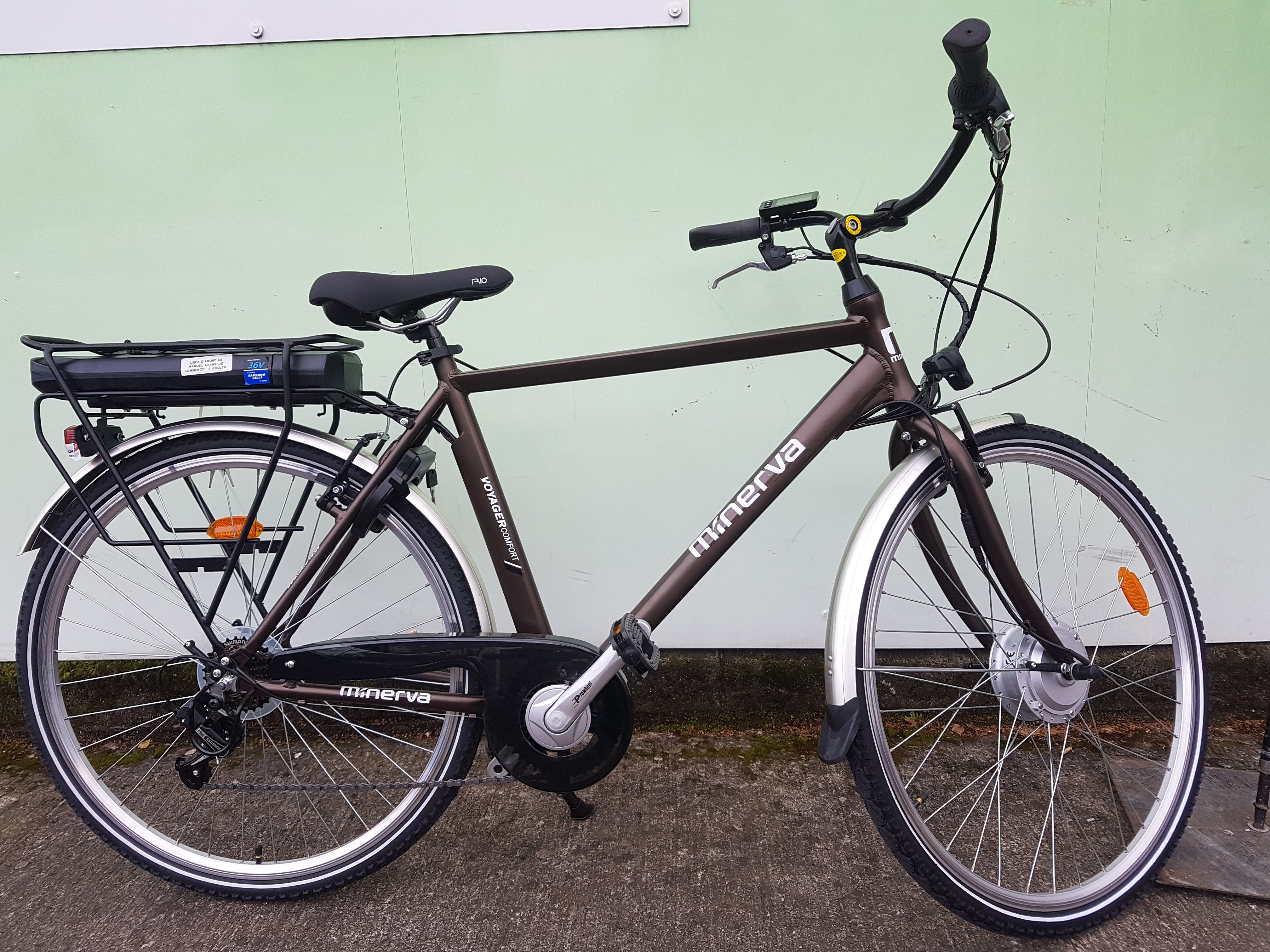 Minerva Gents Voyager Comfort E Bike Cahillcycles