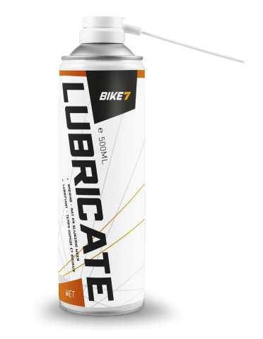 Bike 7 Lubricate- Wet