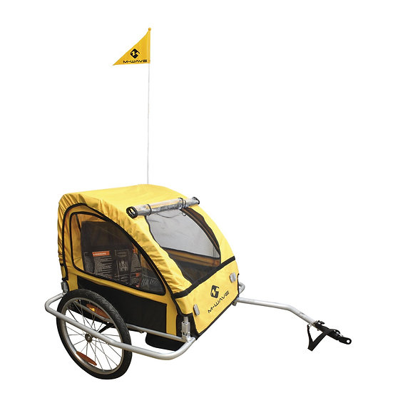 M-WAVE Stalwart Kid Easy Light Children / Luggage Bicycle Trailer