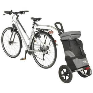 M-Wave Stalwart Shop 1 Luggage Bicycle Trailer