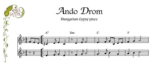 Ando Drom for Bb instruments