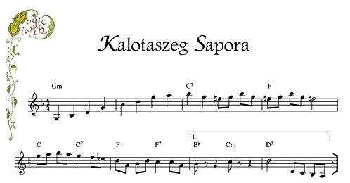 Kalotaszeg Sapora