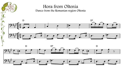 Hora from Oltenia with accompaniment