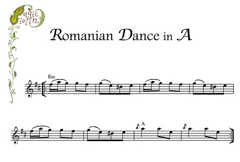Romanian Dance in A
