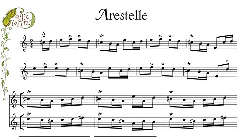 Arestelle in Bass Clef