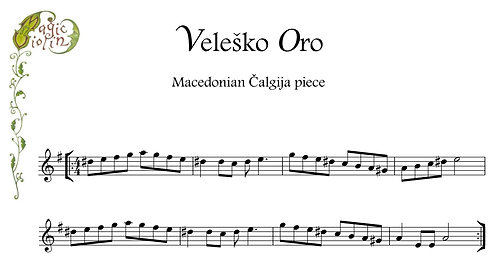 Veleshko Oro in Bass Clef